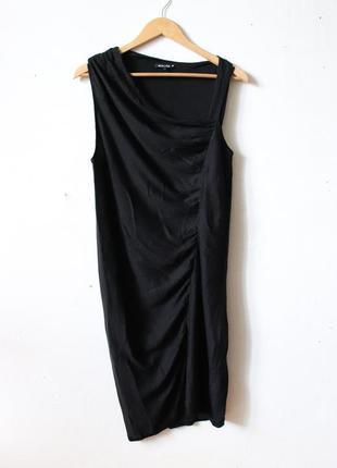 Платье шелк  massimo dutti2 фото
