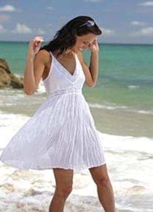 Легкое пляжное платье