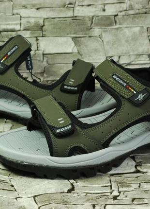 e64600b13fdb Мужские сандалии на липучках 2019 - купить недорого мужские вещи в ...