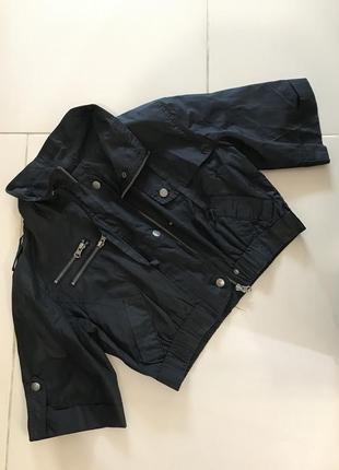 Ветровка укорочённая куртка пиджак sisters point