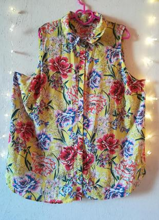 Хлопковая блуза от evans