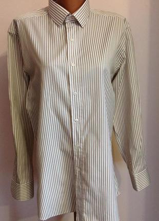 Шикарная мужская итальянская рубашка в состоянии новой. /41/ brend giuseppe baldinini