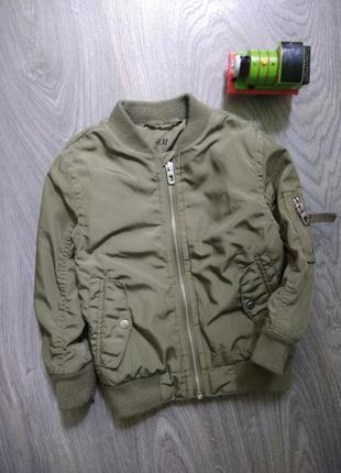 98р h&m бомбер куртка демисезонная