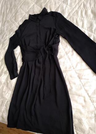Интересное шифоновое платье