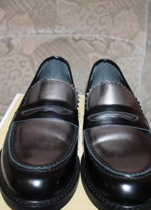 Італійські туфлі- лофери lavorazione  artigianale