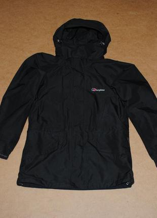 Berghaus куртка на мембране черная мужская