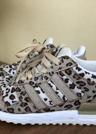 Adidas кроссовки леопардовые/ супер трендовые