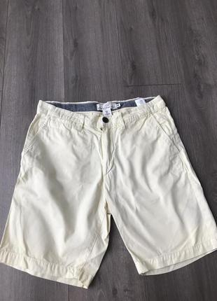 Мужские шорты лимонного цвета