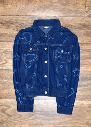 Джинсовый пиджак 9-10 лет