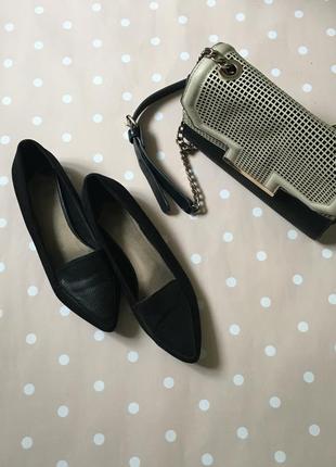 Замшеві туфлі -лодочки