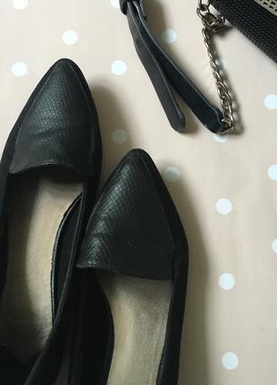 Замшеві туфлі -лодочки7 фото