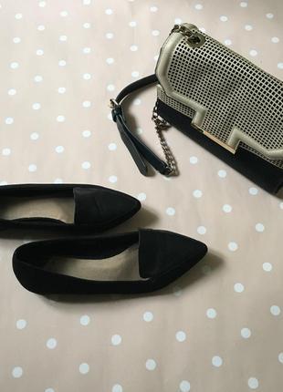 Замшеві туфлі -лодочки8 фото