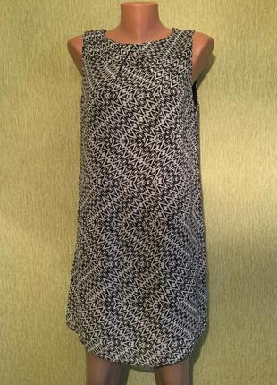 Платье шифоновое трапеция atmosphere 12 размер
