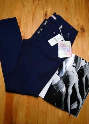 Alcott . джинсы скини skinny слимы штаны брюки на пуговицах