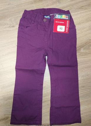 Яркие, летние джинсы ( джегинсы) на девочку 1,5-2года.