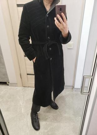 Вельветовое пальто размер м-л германия