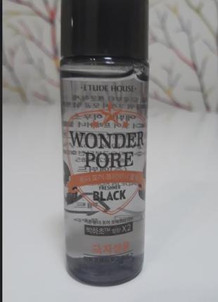Etude house wonder pore freshner black 25ml