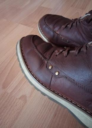 Кожаные ботинки,полуботинки,кросовки,полусапоги,шикарный бренд от dockers1 фото