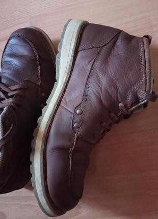 Кожаные ботинки,полуботинки,кросовки,полусапоги,шикарный бренд от dockers2 фото