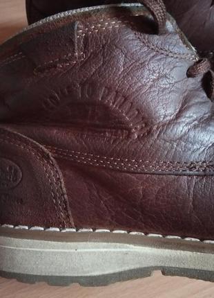 Кожаные ботинки,полуботинки,кросовки,полусапоги,шикарный бренд от dockers3 фото