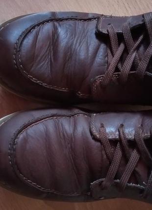 Кожаные ботинки,полуботинки,кросовки,полусапоги,шикарный бренд от dockers7 фото