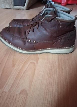 Кожаные ботинки,полуботинки,кросовки,полусапоги,шикарный бренд от dockers9 фото