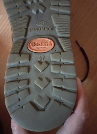 Кожаные ботинки,полуботинки,кросовки,полусапоги,шикарный бренд от dockers10 фото