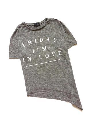 Стильная футболка, блуза, ассиметрическая, удлиненная