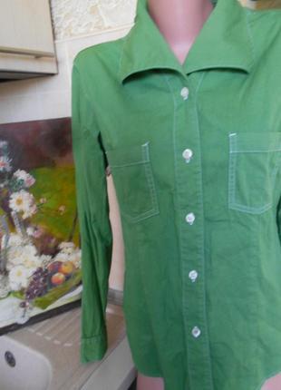 #levis#брендовая зеленая рубашка#