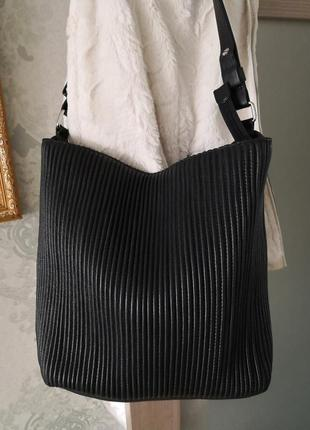 Большая роскошная кожаная сумка the bag