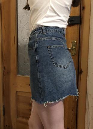 Юбка джинсовая denim co