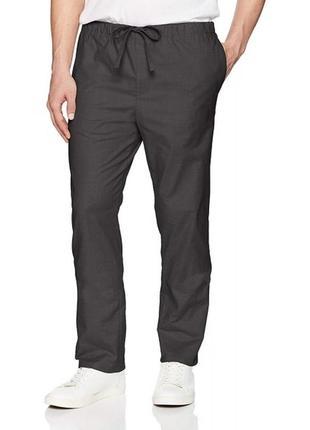 Темно-серые штаны calvin klein
