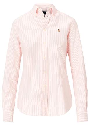 Класическая рубашка  полоску ralph lauren