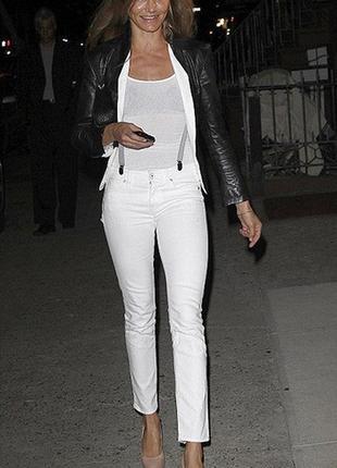 Белые джинсы janina, р. 46