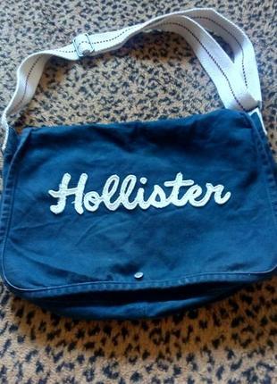 Тканевая сумка hollister
