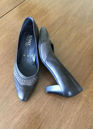 Классические кожаные туфли