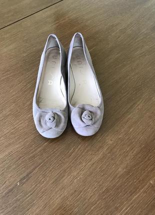 Бежевые нубуковые туфли