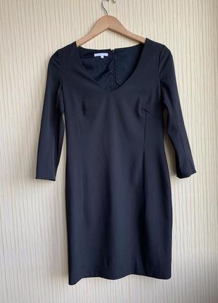 Оригинал patrizia pepe маленькое классическое чёрное платье