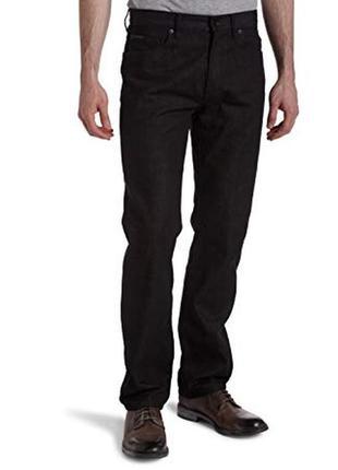 Черные джинсы на высокий рост w 33 l 34 easy fit
