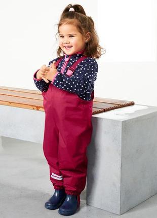 Детский комбинезон для непогоды от тсм tchibo германия размер 86-92