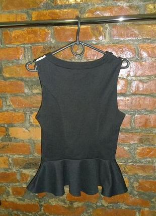 Топ блуза кофточка с баской atmosphere2 фото