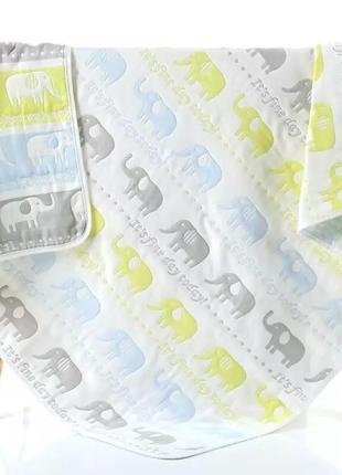 Детский муслиновый плед одеяло
