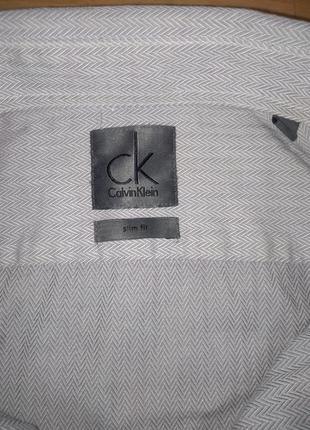 Рубашка calvin klein #базовая мужская рубашка#xl slim fit