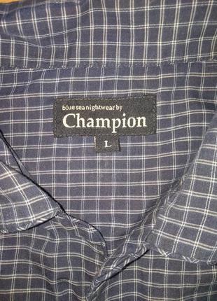 Пижамная рубашка champion #приятная к телу