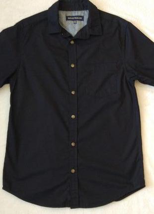 Новая хлопковая рубашка короткий рукав industrialize размер xs-s