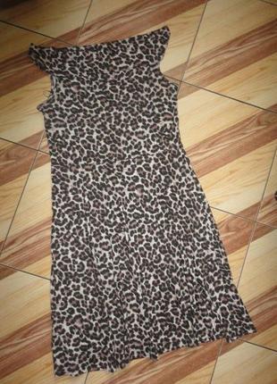Трикотажное платье лео