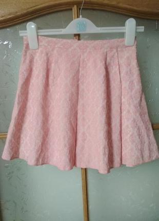 Очень красивая юбка с молнией сзади от fb sister, p. s- xs
