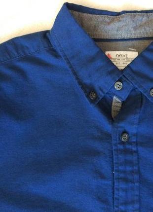 Новая шикарная рубашка длинный рукав next размер s-m5 фото