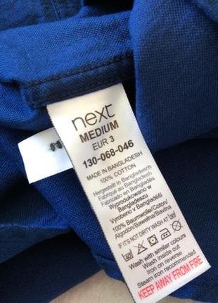 Новая шикарная рубашка длинный рукав next размер s-m10 фото