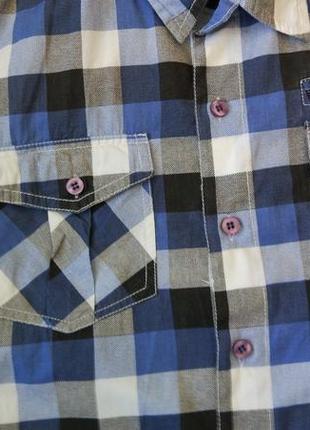 Новая рубашка в клетку urban spirit размер xs-s6 фото